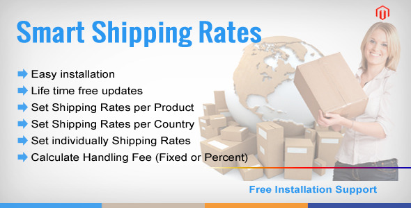 Shipping Rate per Product