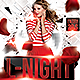Last Night Party Flyer - GraphicRiver Item for Sale