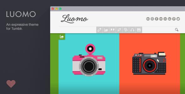 Luomo - A Responsive & Expressive Tumblr Theme - Blog Tumblr
