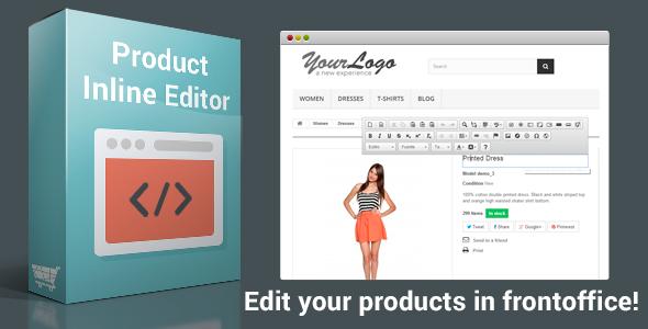 CodeCanyon Product Inline Editor 8143641