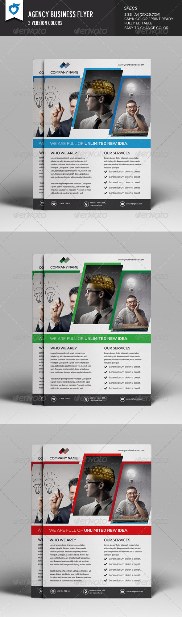 GraphicRiver Agency Business Flyer 8189201
