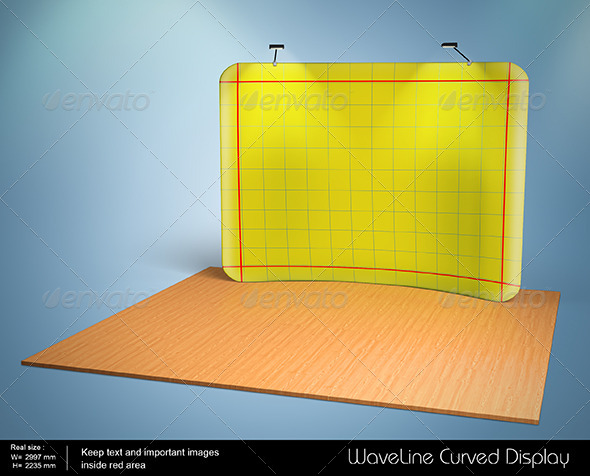 GraphicRiver Waveline Curved Display 8199433