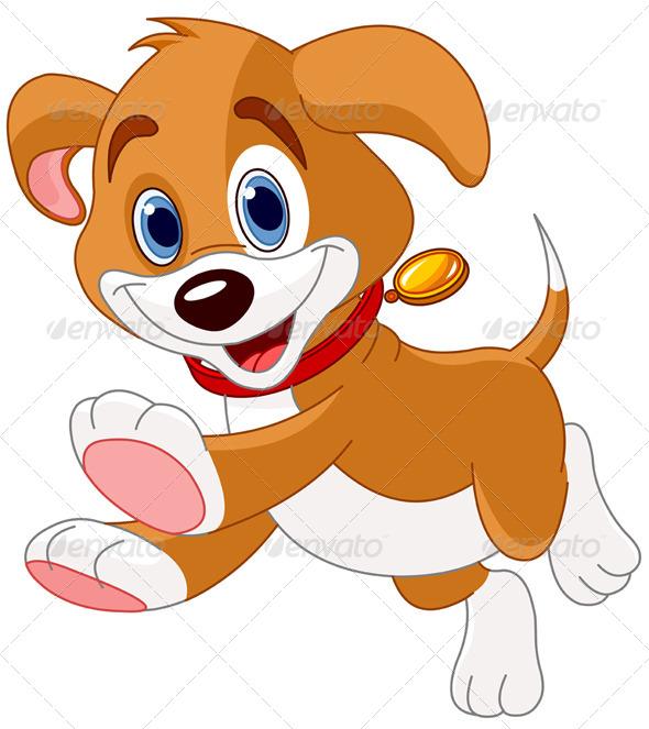 GraphicRiver Running Puppy 8200565