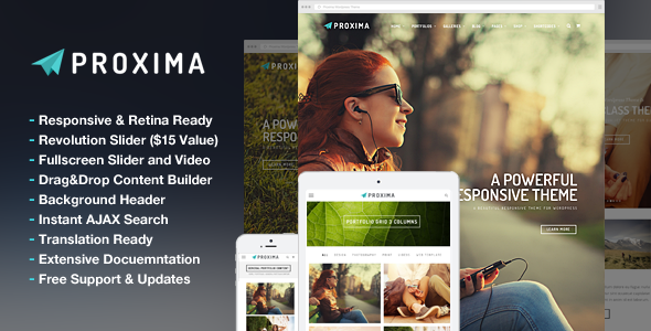 ThemeForest Proxima Responsive Business Multi-Purpose Theme 8094780