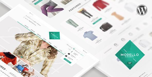 ThemeForest Modello- Responsive eCommerce WordPress Theme 8115240