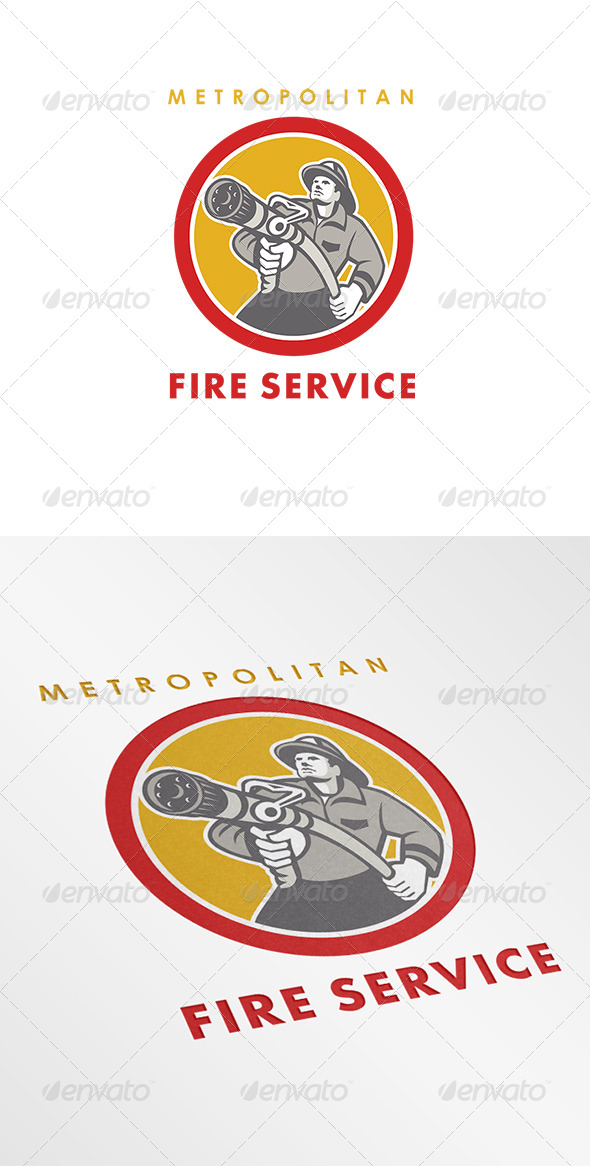 Metropolitan Fire Service Logo