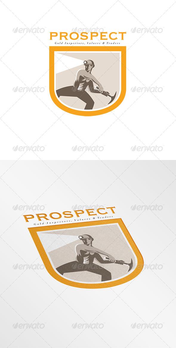 GraphicRiver Prospect Gold Inspectors Logo 8202240