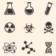 Set of Chemistry Icons - GraphicRiver Item for Sale