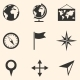 Set of Geography Icons - GraphicRiver Item for Sale