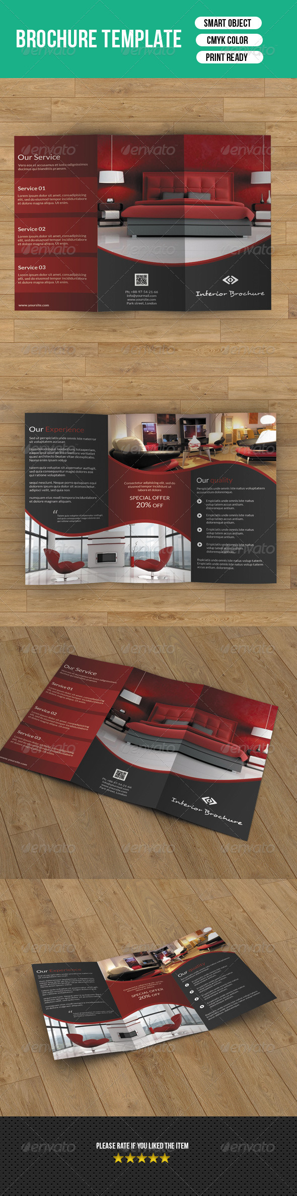 GraphicRiver Trifold Business Brochure-V29 8202880