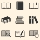 Set of Book Icons - GraphicRiver Item for Sale