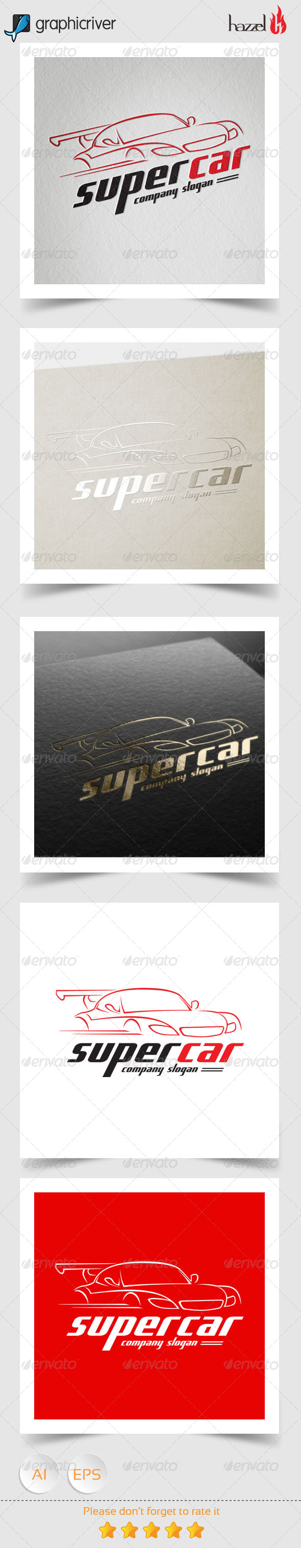 GraphicRiver Super Car Logo 8203262