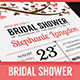 Illustrated Bridal Shower Invitation - GraphicRiver Item for Sale