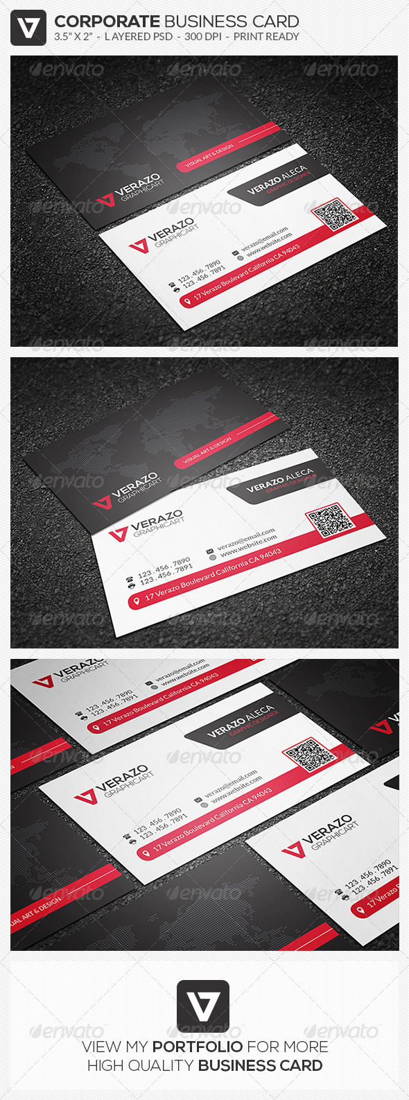 GraphicRiver Modern Corporate Business Card 47 8203421