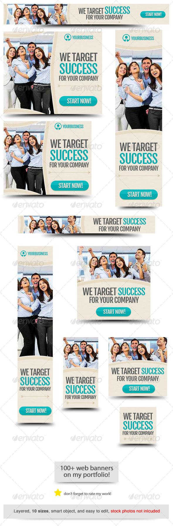 GraphicRiver Corporate Web Banner Design Template 44 8203595