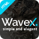 WaveX - One Page Parallax - ThemeForest Item for Sale