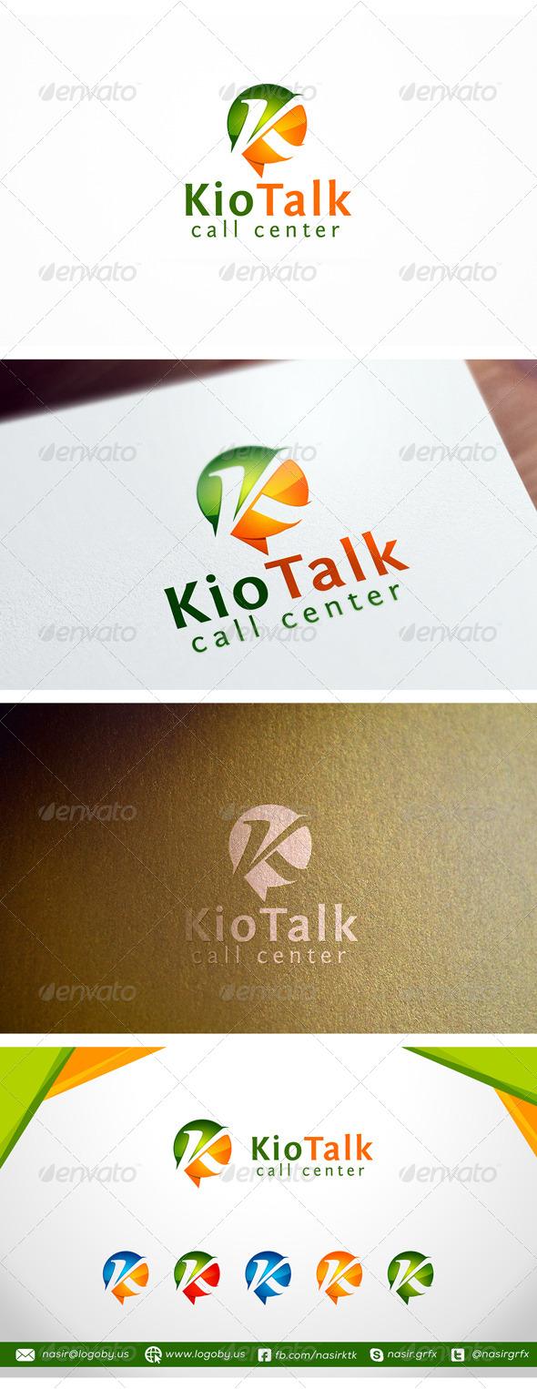 GraphicRiver Letter K Logo 8204104