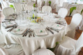 Table set for an event party or wedding reception - PhotoDune Item for Sale