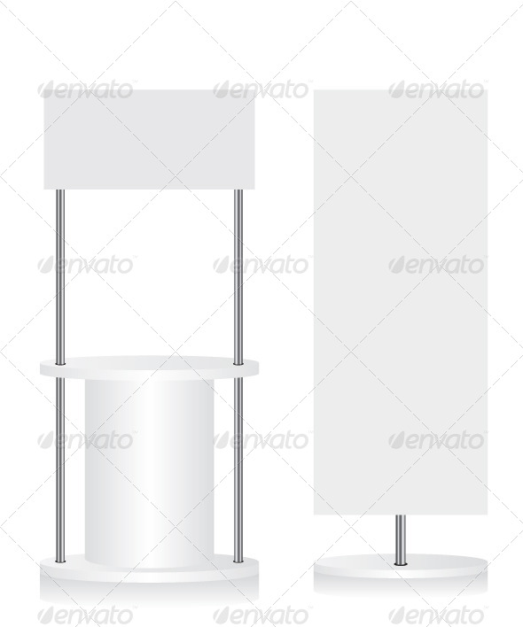 GraphicRiver Promotion Counter and Flag Illustration 8204208