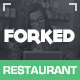 Forked - Responsive Restaurant & events - ThemeForest Item for Sale