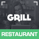 Grill Parallax Restaurant & Events - ThemeForest Item for Sale