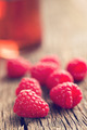 raspberries and juice - PhotoDune Item for Sale