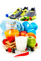 Different tools for sport and healthy food - PhotoDune Item for Sale