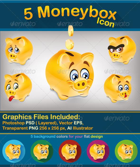 GraphicRiver Moneybox 8204960