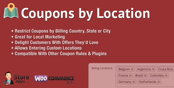 CodeCanyon WooCommerce Coupons by Location 8205028