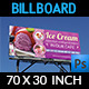 Ice Cream Billboard Template Vol.2 - GraphicRiver Item for Sale