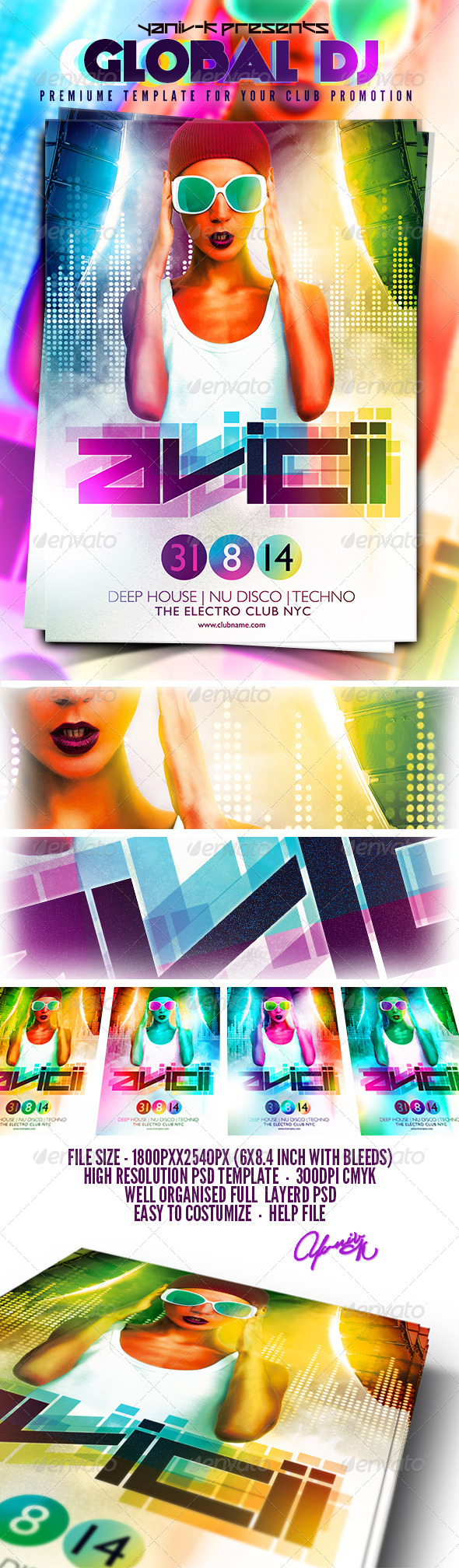 GraphicRiver Global Dj 8206052