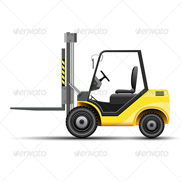 GraphicRiver Forklift Icon 8193194