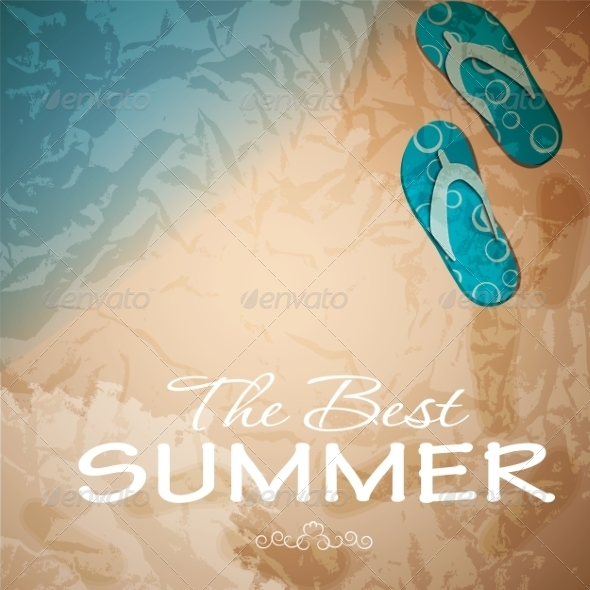 GraphicRiver Summer Abstract Background 8206287