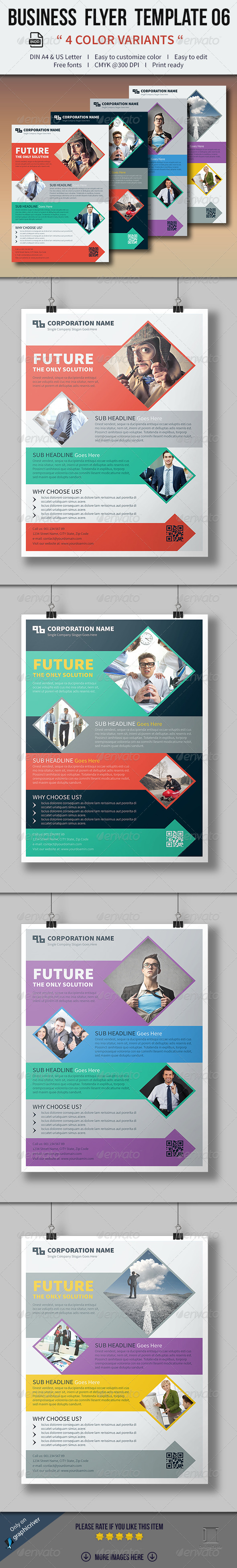 GraphicRiver Business Flyer Template 06 8206725