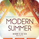 Modern Summer Flyer - GraphicRiver Item for Sale