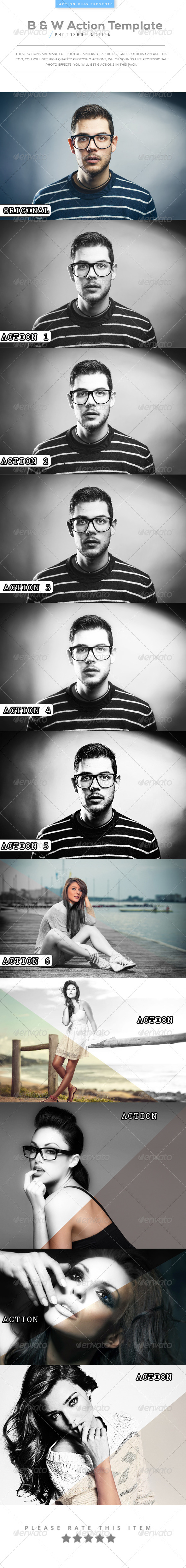 GraphicRiver B & W Action Template 8206976