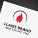Flame Brand Logo - GraphicRiver Item for Sale