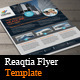 Reaqtia Flyer Template  - GraphicRiver Item for Sale