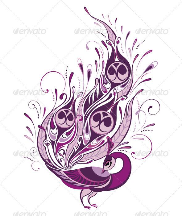 GraphicRiver Peacock 8207433