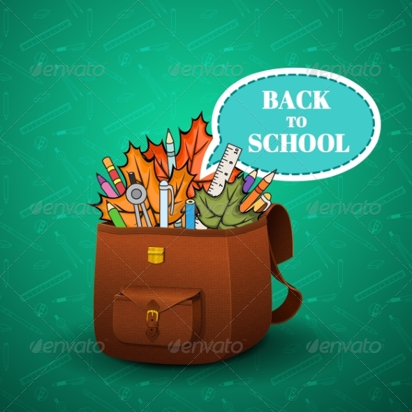 GraphicRiver School Briefcase 8207496