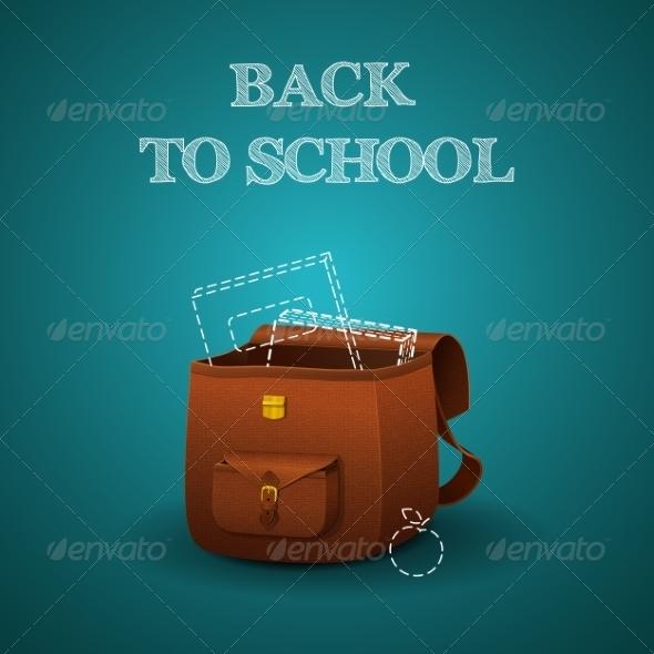 GraphicRiver School Briefcase 8207500