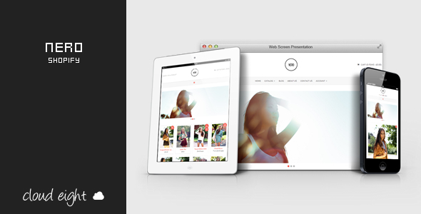 ThemeForest Nero Responsive Shopify Theme 8207504