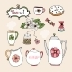Set of Tea Service Icons - GraphicRiver Item for Sale