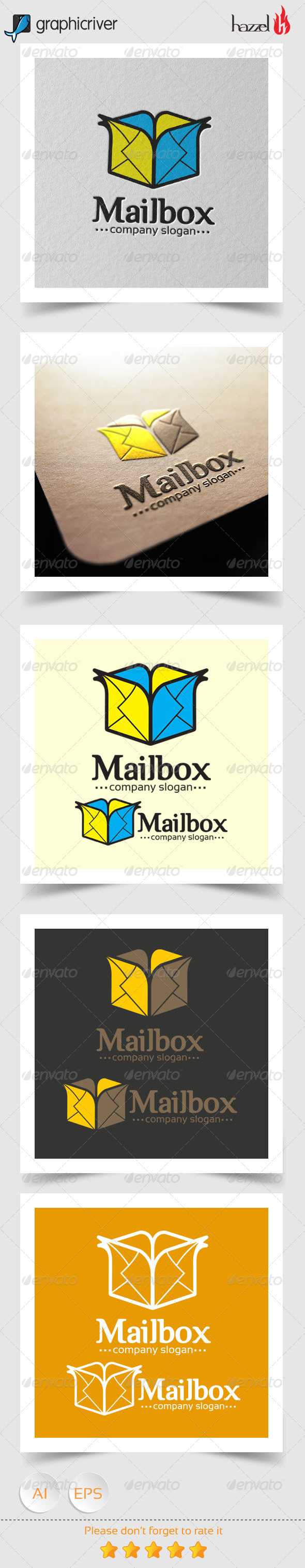 GraphicRiver Mail Box Logo 8207577
