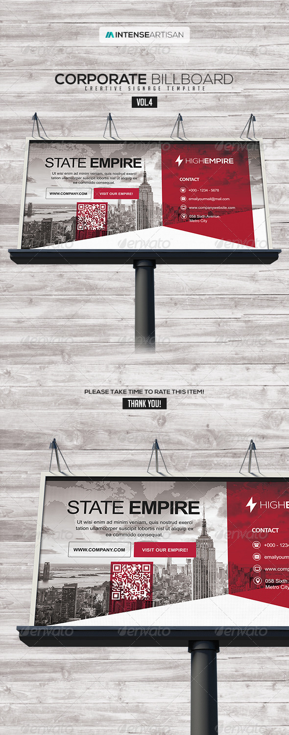 GraphicRiver Billboard Template Signage Vol.4 8207593