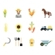Farmer Tools Icons - GraphicRiver Item for Sale