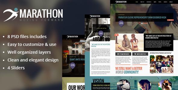 Marathon - PSD Templates