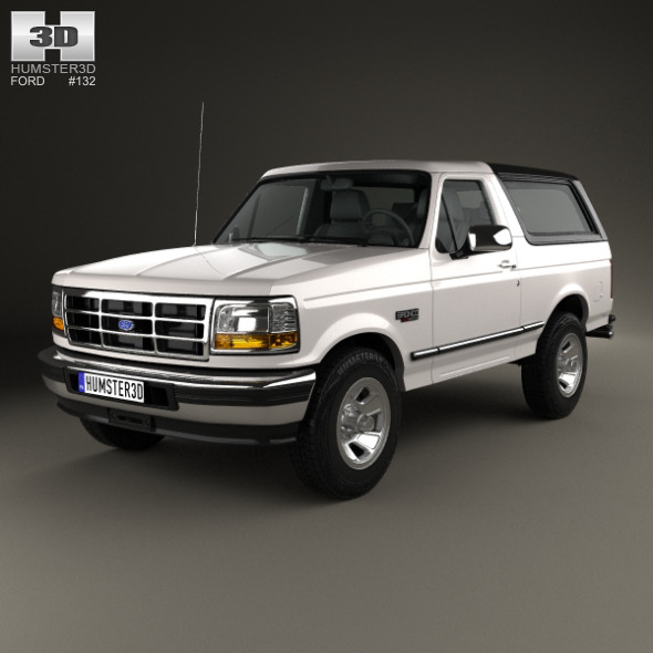 Ford Bronco 1992 - 3DOcean Item for Sale