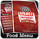 Food Menu - Flyer [Vol.3] - GraphicRiver Item for Sale