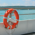 lifebuoy on a ship - PhotoDune Item for Sale